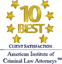 10 Best - Criminal Law