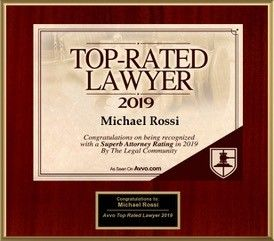Avvo Top Rated Lawyer 2019